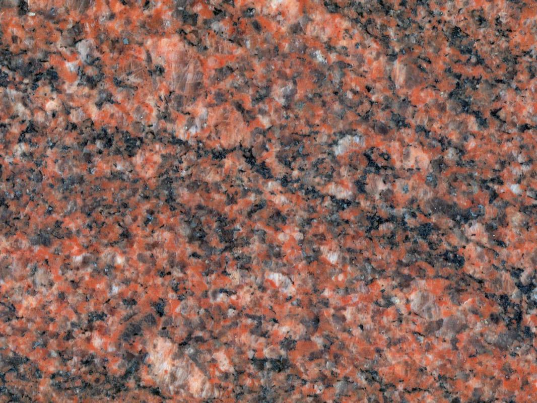 Multicolor red granit